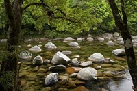 Boulders and Mossman River, North Queensland, Australia by David Wall - various sizes