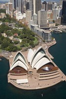 Sydney Opera House, Botanic Gardens, Sydney, Australia Fine Art Print