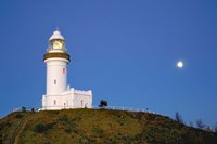 Byron Bay, Australia Lighthouse landmark Fine Art Print