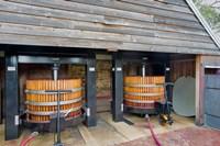 Australia, Barossa, Rockford Winery, hydraulic presses Fine Art Print