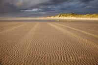 Sand Ripples, Beach, Tasmania, Australia by David Wall - various sizes - $37.49