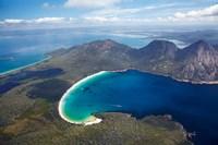 Wineglass Bay and The Hazards, Freycinet National Park, Tasmania, Australia by David Wall - various sizes - $37.49