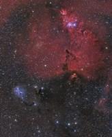 Nebula in Monoceros by John Davis - various sizes, FulcrumGallery.com brand