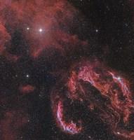 Veil Nebula in the Constellation Cygnus by John Davis - various sizes - $47.49