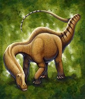 Apatosaurus by H. Kyoht Luterman - various sizes, FulcrumGallery.com brand