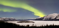 Aurora Borealis over Bove Island, Yukon, Canada by Joseph Bradley - various sizes