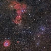 Nebulae in Gemini Constellation by John Davis - various sizes, FulcrumGallery.com brand