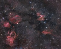 Nebulosity in the Cepheus Constellation by John Davis - various sizes, FulcrumGallery.com brand