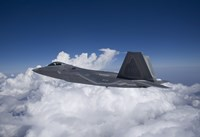 An F-22 Raptor over New Mexico by HIGH-G Productions - various sizes