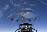 F-15 Eagle Pulls into Position Behind a KC-135 Stratotanker by HIGH-G Productions - various sizes, FulcrumGallery.com brand