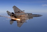 F-15 Eagle Releases a Flare by HIGH-G Productions - various sizes