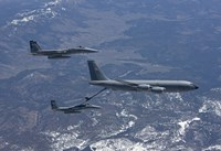 Two F-15 Eagles Refueling by HIGH-G Productions - various sizes