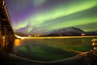Aurora Borealis Over Nares Lake
