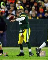 Aaron Rodgers 2014 Green Bay Packers Fine Art Print