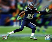 Richard Sherman Motion Blast Fine Art Print
