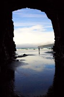Cathedral Cave, Catlins Coast, South Island, New Zealand by David Wall - various sizes