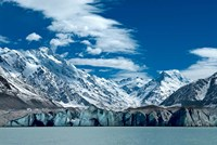 Tasman Glacier Terminal Lake, South Island, New Zealand Fine Art Print