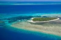 Australia, Cairns, Great Barrier Reef, Green Island Fine Art Print