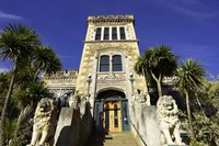 Larnach Castle entrance, South Island, New Zealand by David Wall - various sizes