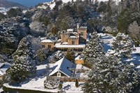 Larnach Castle and Snow, Otago Peninsula, South Island, New Zealand by David Wall - various sizes