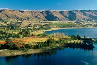 Pisa Range and Lake Dunstan, Central Otago, New Zealand by David Wall - various sizes