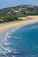 Australia, Whitsunday, Bowen, King's Beach coastline by Walter Bibikow - various sizes