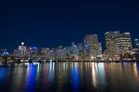 Darling Harbour at night, Sydney, New South Wales, Australia by Sergio Pitamitz - various sizes