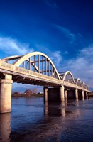 Balclutha Bridge and Clutha River, New Zealand by David Wall - various sizes