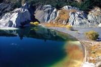 Blue Lake, St Bathans, Central Otago, New Zealand by David Wall - various sizes