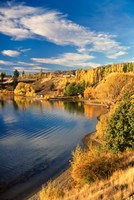 Lake Dunstan, Central Otago, New Zealand by David Wall - various sizes