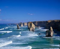 Great Ocean Road, The Twelve Apostles, Victoria, Australia Fine Art Print