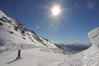 Remarkables Ski Area, Queenstown, South Island, New Zealand Fine Art Print