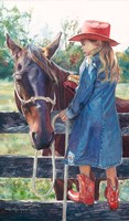 Getting the Brush Off by Wesley Dallas Merritt - various sizes - $19.49