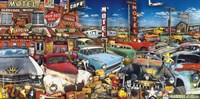 Old Cars and Used Guitars by John Roy - various sizes