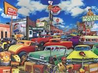 Cowboy Town - Rainbelt Fine Art Print