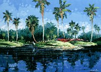 Blue Lagoon Fine Art Print