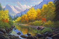Mountain Stream by Charles White - various sizes