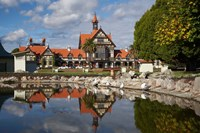 Bath House, Government Gardens, Rotorua, North Island, New Zealand by David Wall - various sizes