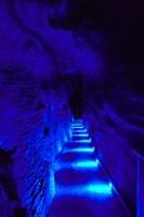 Blue Lights, Ruakuri Caves, North Island, New Zealand by David Wall - various sizes