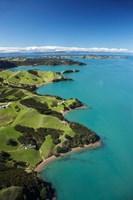Coastline, Waiheke Island, Auckland, New Zealand Fine Art Print
