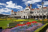Historic Railway Station, Dunedin, South Island, New Zealand by David Wall - various sizes