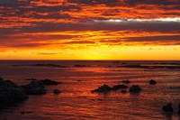 Sunrise, Kaikoura, South Island, New Zealand Fine Art Print