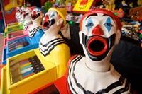 Laughing Clowns Side-Show, Rotorua, Bay of Plenty, North Island, New Zealand by David Wall - various sizes, FulcrumGallery.com brand