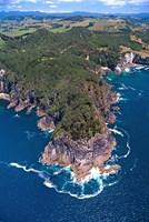 Coast South of Hahei, Coromandel Peninsula by David Wall - various sizes