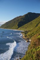 Coastline, Twelve Mile Bluff, South Island, New Zealand by David Wall - various sizes