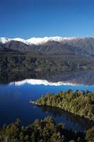 Kayakers, Lake Mapourika, South Island, New Zealand by David Wall - various sizes