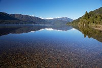 Lake Kaniere, West Coast, South Island, New Zealand by David Wall - various sizes