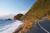 Road at Seventeen Mile Bluff, South Island, New Zealand by David Wall - various sizes