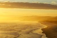 Coast South of Dunedin, South Island, New Zealand by David Wall - various sizes