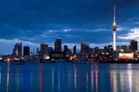 Skytower, City Skylines, North Island, New Zealand by David Wall - various sizes, FulcrumGallery.com brand